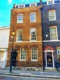 老伦敦城内住宅 免版税图库摄影