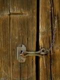老伪造的门闩 免版税图库摄影