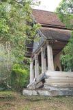 老佛教寺庙在琅勃拉邦 免版税库存照片