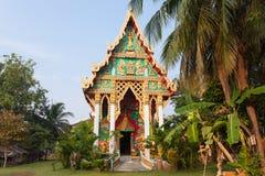 老佛教寺庙 免版税库存照片