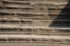 老佛教徒建筑学在吴哥考古学公园 柬埔寨-暹粒的纪念碑 普遍的电影风景 库存照片