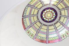 老佛罗里达国会大厦圆顶 库存图片