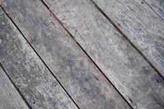 老作为背景使用的难看的东西木墙壁纹理盘区 免版税库存照片