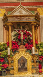 老使命圣诞老人Ines Solvang加利福尼亚大教堂法坛十字架 库存照片