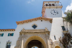 老使命教会在圣Bernadino 库存图片