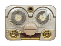 老便携式的管磁带记录器 免版税图库摄影
