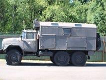 老俄国军用卡车ZIL 免版税库存照片