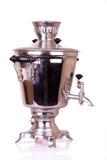 老俄国式茶炊 免版税图库摄影