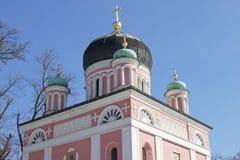 俄国教会,波茨坦,德国 免版税库存照片