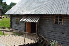 老俄国村庄 免版税库存图片
