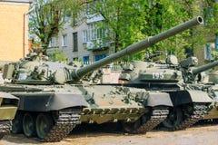老俄国苏联坦克 库存照片