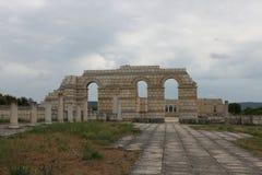 老保加利亚首都Pliska 库存照片