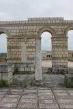 老保加利亚首都Pliska 免版税库存照片