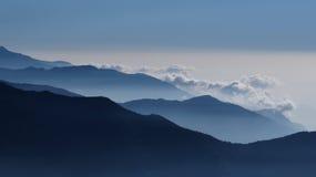 老保守天在喜马拉雅山 库存照片