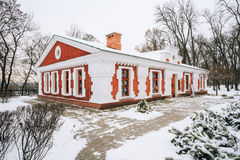 老信徒和白俄罗斯语传统韦特卡博物馆在戈梅利 免版税库存图片