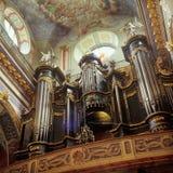 老修道院在利沃夫州伯纳迪诺 免版税库存图片