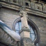 老修道院在利沃夫州伯纳迪诺 免版税库存照片