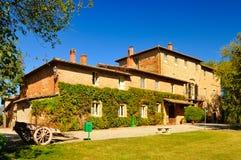 老修道院在托斯卡纳 免版税库存照片