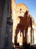 老修道院,在BeÄ  ej,塞尔维亚附近的AraÄ  a废墟  库存照片