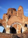 老修道院,在BeÄ  ej,塞尔维亚附近的AraÄ  a废墟  免版税库存照片