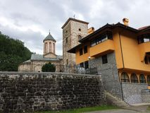老修道院 免版税库存图片