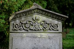 老公墓 免版税库存图片