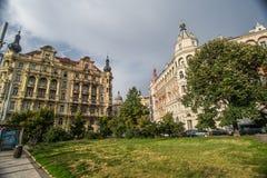 老公寓在布拉格 库存照片