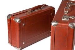 老六十手提箱年 库存照片