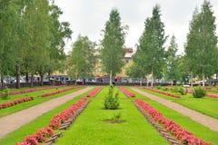 老军事公墓在拉彭兰塔 库存照片