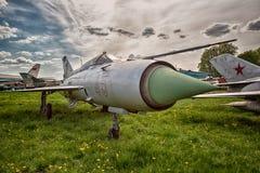 老军用飞机 库存图片