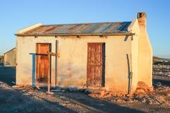 老农厂工人房子 免版税库存图片