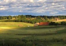 老农场 免版税图库摄影