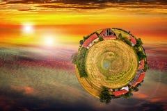 360老农场 免版税图库摄影