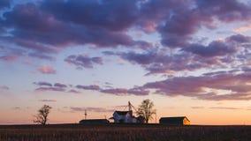 老农场 免版税库存照片