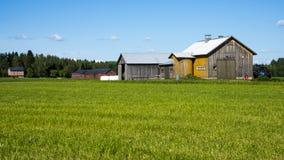 老农场 图库摄影