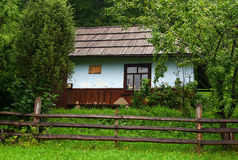 老农村房子 图库摄影