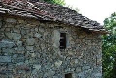 老农舍在法国 库存照片