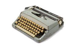 老减速火箭的打字机 免版税库存图片