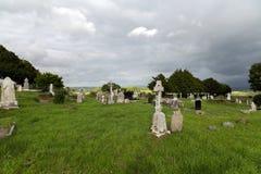 老凯尔特公墓坟园在爱尔兰 库存图片