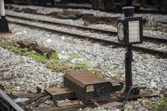 老分流器机器泰国火车 库存图片