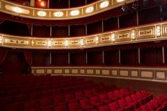 老剧院 免版税库存图片