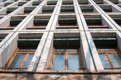 老办公室门面设计 免版税图库摄影