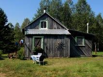 老加拿大农舍 库存图片