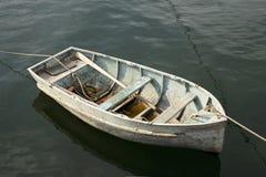 老化小船 库存照片