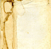 老化纸张 图库摄影