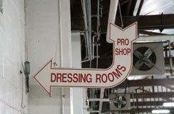 老化装室签到竞技场 库存照片