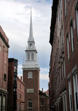 老北部教会 库存图片