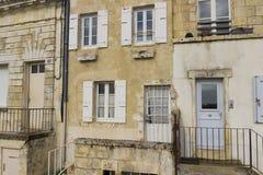 老半独立式房子在拉罗歇尔,法国 库存照片