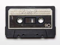 老卡型盒式录音机磁带 免版税库存图片