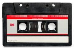 老卡式磁带 免版税库存照片